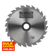 DeWalt DT1154-QZ Circular Saw Blade Portable 216 x 30mm 24T