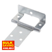 Cranked Hinges Zinc-Plated 39 x 50mm Pack of 20
