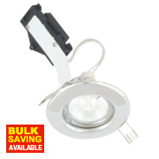 LAP Fixed Round Low Voltage Downlight Polished Chrome 12V