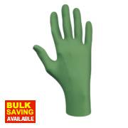 Showa Best Dex 6105 Nitrile Biodegradable Disposable Gloves Large Pk100