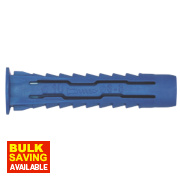 Rawlplug Rawl-4-All Mixed Wall Plugs Blue 200 Piece Set
