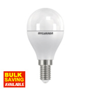 Sylvania Golf Ball Frosted LED Lamp SES 6.5W