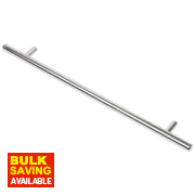 Rod Handle Polished Chrome 240mm