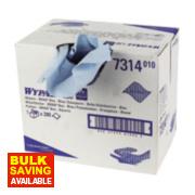 Kimberly-Clark Professional Wypall L30 Wipes Brag Box of 280 Blue