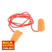 3M 1100 37dB Corded Foam Ear Plugs 100 Pairs
