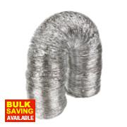 Manrose Aluminium Laminated Ducting Hose Silver 10m x 152mm