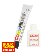 Colorfill Worktop Compound Diamond Black 2 Pcs