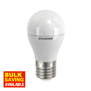 Sylvania Golf Ball Frosted LED Lamp ES 6.5W