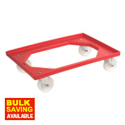 Dolly for Euro Containers ABS Plastic Construction