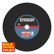 Erbauer Metal Cutting Discs 355 x 3.5 x 25.4mm Pack of 2