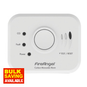 FireAngel W2-CO-10XQ Wireless Interlink Carbon Monoxide Alarm