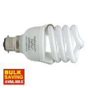 Varilight DigiFlux® Energy Saver+ Spiral Compact Fluorescent Lamp BC 20W