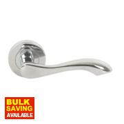 Jedo Chloe Door Handle Pair Polished Chrome