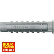 Fischer Fischer SX Nylon Plugs 4.5-6 x 40mm Pk100