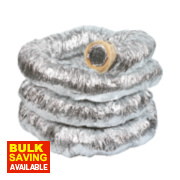 Manrose Aluminium Insulated Ducting Hose Silver 10m x 102mm