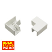 Tower Flat Angle 16 x 16mm Pack of 2