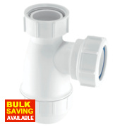 McAlpine Basin Bottle Trap 32mm White