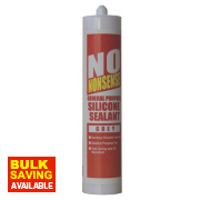 No Nonsense General Purpose Silicone Sealant Grey 310ml
