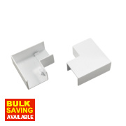Tower Flat Angle 38 x 25mm Pack of 2