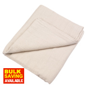 No Nonsense Cotton Twill Dust Sheet 12' x 9'