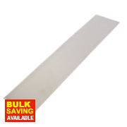 Kick Plate Satin Stainless Steel 765 x 152mm