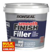Ronseal Big Hole Ready Mixed Wall Filler Grey 1.2Ltr