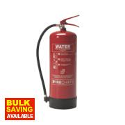 Firechief Pressure Water Fire Extinguisher 9Ltr