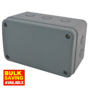 IP55 Enclosure Grey 180 x 110 x 100mm
