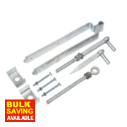 Adjustable Gate Kit Spelter Galvanised 50 x 460 x 85mm
