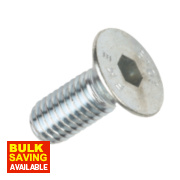 Socket Countersunk Screws A2 Stainless Steel M6 x 16mm Pack of 50