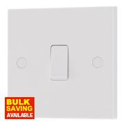 British General 10AX Intermediate Light Switch White