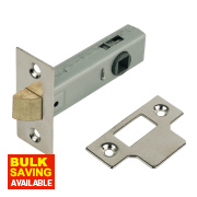 Tubular Latch Nickel-Plated 80mm