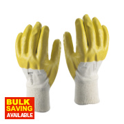 Skytec Neon Neon Gloves Yellow X Large
