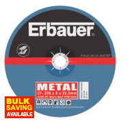 Erbauer Metal Grinding 230 x 6 x 22.2mm Pack of 5