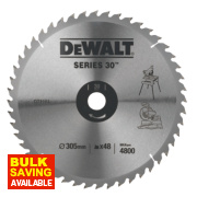 DeWalt DT1161-QZ Circular Saw Blade Stationary 305 x 30mm 48T
