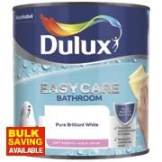 Dulux Bathroom Soft Sheen Pure Brilliant White 2.5Ltr