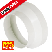 Manrose Round Reducer White 125-100mm
