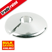 Pipe Collars 10mm Chrome Pack of 10