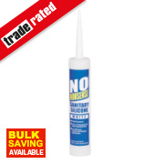 No Nonsense Sanitary Silicone White 310ml