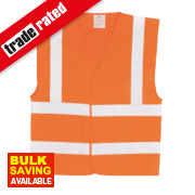 Hi-Vis Waistcoat Orange Small / Medium 47