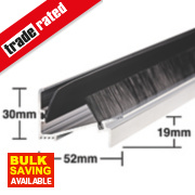 Stormguard Classic Threshold Draught & Rain Excluder Pol. Aluminium 914mm