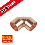 Flomasta End Feed Elbows 15mm Pack of 20