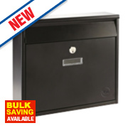 Yale Ohio Post Box Black Satin