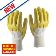 Skytec Neon Gloves Yellow Large