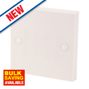 20A Flex Outlet Plate White