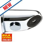 Franke Vandal-Resistant Shower Head Chrome 62 x 96 x 62mm
