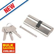 Smith & Locke 5-Pin Euro Double Cylinder Lock 40-45 (85mm) Nickel