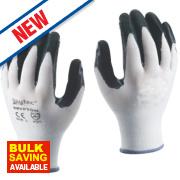 Skytec Krypton Gloves White/Dark Green Large