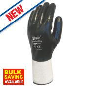 Skytec Krypton Xtra Gloves White/Dark Green Large