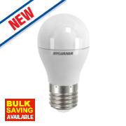 Sylvania ToLEDo Golf Ball Frosted LED Lamp ES 470Lm 7W
